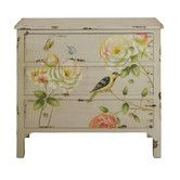 Found it at Wayfair.co.uk - Spring Flowers Distressed Chest of Drawers