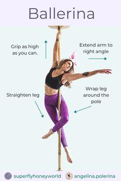 Pole Fitness Moves, Pole Dance Moves, Pole Dancing Fitness, Dance Tips, Sport Fitness, Pole Classes, Pole Fitness Classes, Pole Dancing For Beginners, Pole Tricks