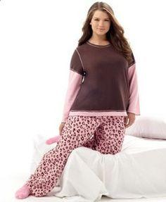 Plus Size Pajamas | Plus Size Pajamas | Footed Pajamas For Women