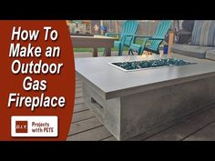 How to Make a Patio Bar - DIY Concrete Counter Bar with Wood Base - YouTube