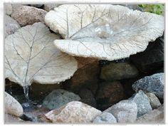 Leaf Stepping Stones | Subtropical Gardening