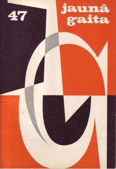 cover of jaunā gaita (latvian magazine), 1964
