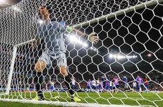 Football Soccer - Belgium v Italy - EURO 2016 - Group E - Stade de Lyon, Lyon, France - 13/6/16 - Italy's goalkeeper Gianluigi Buffon celebrates. REUTERS/Jason Cairnduff ORG XMIT: CVI1691