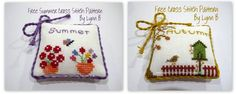 Free Summer and Autumn Cross Stitch Patterns