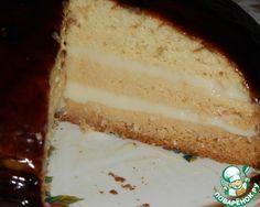 """Milk cake. Бесподобный молочный торт из серии простых, на тему """"Безумный торт"""". Готовится без яиц, легко и просто, из продуктов, которые всегда под рукой! Торт получается пышный, высокий, а по вкусу - нежный, мягкий, чуть влажноватый... очень вкусный!"""
