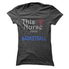 This Nurse Love Basketball T-Shirt