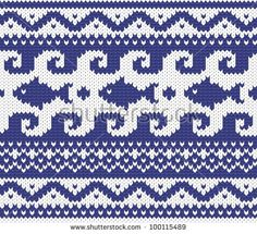 Find Sweater Design Seamless Knitting Pattern Stock Images in HD and millions of other royalty-free stock photos, illustrations, and vectors in the Shutterstock collection. Fair Isle Knitting Patterns, Knitting Charts, Knitting Stitches, Knit Patterns, Knitting Socks, Cross Stitch Patterns, Free Knitting, Motif Fair Isle, Fair Isle Chart