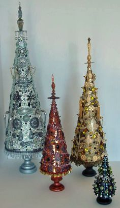 Artfully Musing: Jeweled Trees from the Creative Team