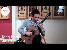 Tariq Harb visits GSI - 2011 Otto Vowinkel Guitar