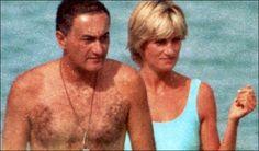 Diana with Dodi, summer 1997.