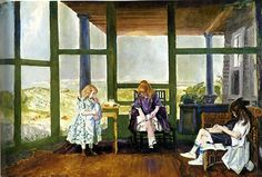 bofransson:    George Bellows i want this sunroom