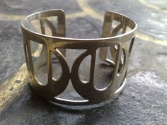 CUFF07 925 Sterling Silver Cuff with Front Garden by park2park925, $121.65
