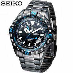 สยามคาสิโอ SIAMCASIO จำหน่ายนาฬิกาข้อมือยี่ห้อ CASIO|DIESEL|FOSSIL|LUMINOX|DKNY และอื่นๆอีกมากมาย ของแท้ 100% พร้อมใบรับประกัน - Seiko Superior Explorer Limited Edition Men's Watch รุ่น SSA115K1