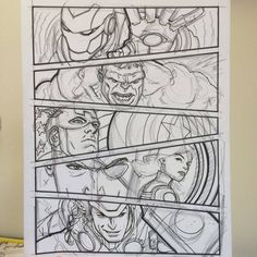 watch out — chrissamnee: Step-by-steps of a few recent. watch out — chrissamnee: Step-by-steps of Avengers Drawings, Avengers Art, Marvel Art, Drawing Superheroes, Sad Drawings, Art Drawings Sketches Simple, Pencil Art Drawings, Avengers Painting, Marvel Paintings