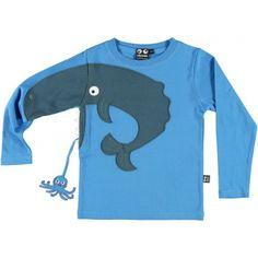 Tshirt Baleine UBANG 4-6 A Arthus & Co 38€