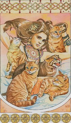 Seven of Pentacles - Sorcerers Tarot