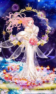 My own costumes from nikki up to u - ngôi sao thời trang 360 mobi . My id: 100118519 Queen Anime, Anime Princess, Anime Fairy, Anime Angel, Anime Fantasy, Fantasy Art, Beautiful Anime Girl, Manga Drawing, Anime Outfits