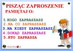 FORMY WYPOWIEDZI PISEMNEJ2 Whole Brain Teaching, Teaching Kids, Aa School, Polish Language, Pin On, Eighth Grade, Girls World, Study Motivation, Montessori