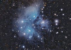 My favorite Messier object, the Pleiades.