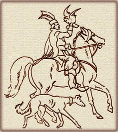 Hunting with sighthounds and combinations of sighthounds and falcons was a popular sport among the nobles in Medieval Poland. Chart Polski, or Polish Sighthound