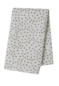 Pehr Selby Collection Taupe Dot Tea Towel