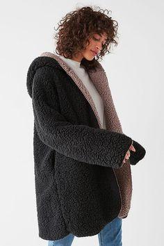 ceaa929c Silence + Noise - Magnolia Cozy Reversible Coat - $89.00 Best Winter Coats,  Winter Hats