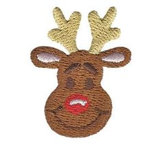 Mini Reindeer | What's New | Machine Embroidery Designs | SWAKembroidery.com Applique for Kids