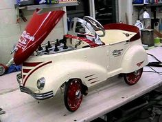 Custom Pedal Car - doesn't look like anything I had as a kid!