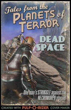 Dead Space retro style poster, found on Facebook gaming page