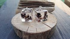 Wild seed Cube drop earrings Pure 999 silver handmade ear wire Nature lovers Gift Preserved forever in clear resin /Irish Wild Atlantic Way by FernBerryBoutique on Etsy Gifts For Nature Lovers, Lovers Gift, Boho Bride, Wedding Bride, Fern Tattoo, Clear Resin, Here Comes The Bride, Handmade Silver, Cube