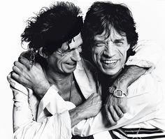 Keith & Mick par Mario Testino