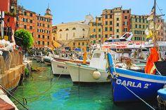 Day 3: Portofino harbor...Dreamy! Golden Week in the Italian Riviera: www.susanvanallen.com/tours