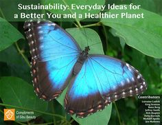 Sibu Beauty's Sustainability eBook - Sustainability: Everyday Ideas for a Better You and a Healthier Planet. Free download. @Sibu Beauty