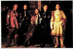 https://flic.kr/p/SSnxhQ | Gérard Depardieu, Jeremy Irons, John Malkovich, Gabriel Byrne and Leonardo DiCaprio in The Man in the Iron Mask (1998) | British postcard by London Postcard Company, no. MG 2001. Photo: United Artists. Publicity still for The Man in the Iron Mask (Randall Wallace, 1998).  Gérard Depardieu (1948) with his trademark bulbous nose is France's biggest male film star. He developed from France's young male sensation in 1974 into a bulging and controversial  but very…
