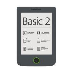 eBook четец Pocketbook Basic 2, 4GB, Сив. Безплатна доставка. Цена:149.84лв. ---> http://profitshare.bg/l/246445