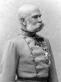 Emperor Franz Joseph, 1885