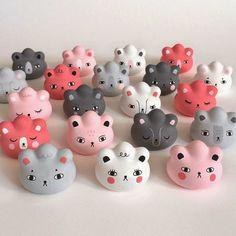"Los Toy Art Pocket Pork Dumpling de Andrea Kang para la Comic Con de Nueva York / Andrea Kang for NYCC 2014 exclusive ""Bear Buns"" custom Pocket Pork Dumpling's!"