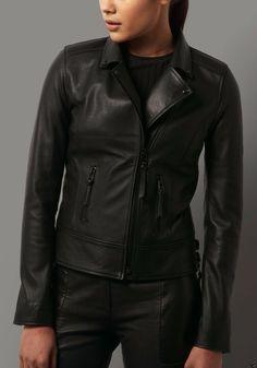 5d382dd0663 Women s Genuine Lambskin Leather Motorcycle Slim fit Biker Jacket  Handmade   Motorcycle  perfectforeveningcasualbikerandwinter Womens