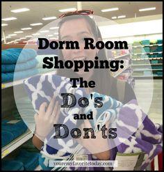 DormRoomDosAndDonts. All totally true!!