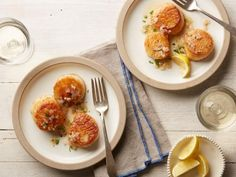 Scallops Provencal Recipe from Food Network / Ina Garten Fish Dishes, Seafood Dishes, Fish And Seafood, Seafood Recipes, New Recipes, Main Dishes, Dinner Recipes, Cooking Recipes, Favorite Recipes