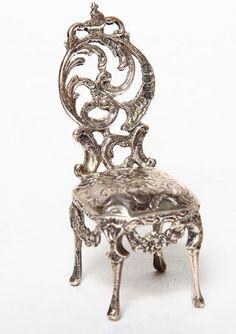 Rare 1897 Victorian Sterling Silver