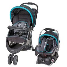 Baby Trend EZ Ride 5 Travel System, Hounds Tooth - $159.00