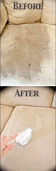 Clean Microfiber Couch with Only ONE Ingredient – C/R