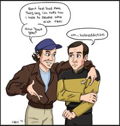 Murdock meets Barclay by chill13.deviantart.com on @DeviantArt