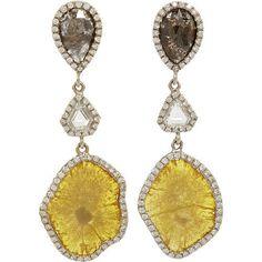 Yellow, White & Grey Diamond...    $38,500.00