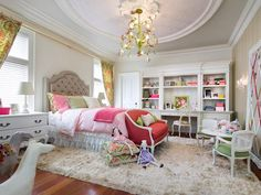 Romantic Kids-rooms from  on HGTV