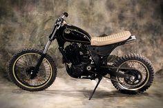 Suzuki DR650 Street Tracker by Lab Motorcycles #suzuki #streettracker #motos | caferacerpasion.com