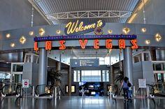 LAS VEGAS,NEVADA MCCARRAN AIRPORT   Airports Waymark - McCarran International Airport - Las Vegas Nevada ...