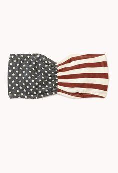 American Flag Bandeau