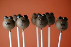 Brown Bear Brown Bear What Do You See cake pops #cakepops